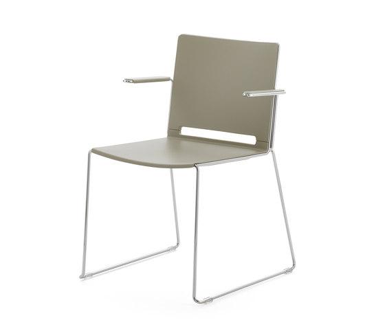 laFILÒ PLASTIC ARMCHAIR by Diemmebi | Chairs