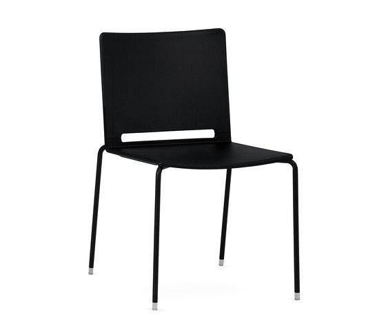 laFILÒ PLASTIC 4 LEGS by Diemmebi | Chairs