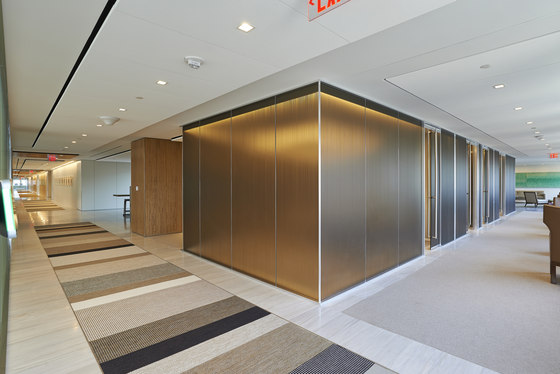 Metafora | Partition Wall System by Adotta Italia | Sound absorbing architectural systems