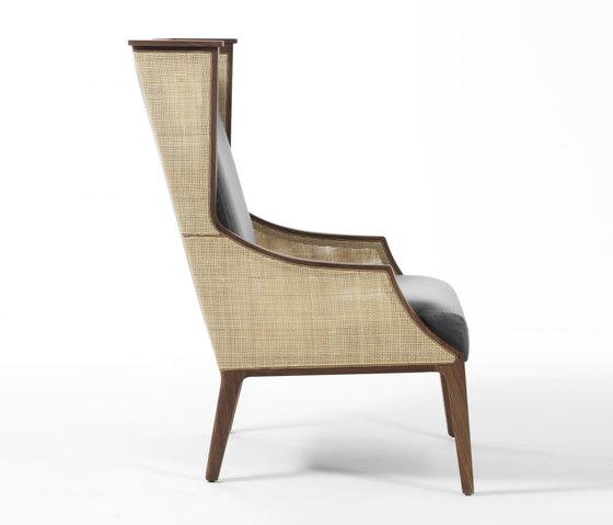 Liala bergere straw von Porada | Loungesessel