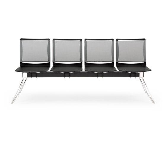 S'MESH PLASTIC BENCH von Diemmebi | Sitzbänke