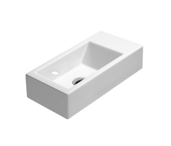 Kube 50 |Washbasin by GSI Ceramica | Wash basins