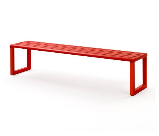 VENTIQUATTRORE.H24 FLAT BENCH von Diemmebi | Sitzbänke