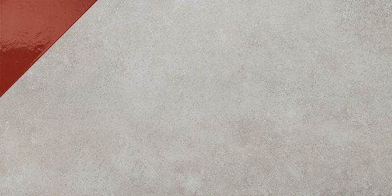 Matrice Trama 3 G4 Rosso by FLORIM   Ceramic tiles