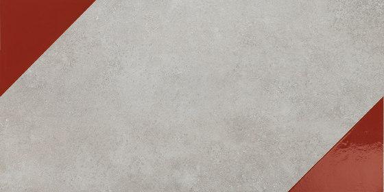Matrice Trama 3 G6 Rosso by FLORIM | Ceramic tiles