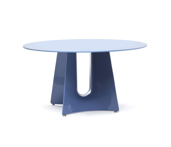 Bentz high round table by Baleri Italia | Dining tables