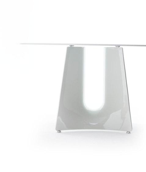 Bentz high round table by Baleri Italia | Dining tables