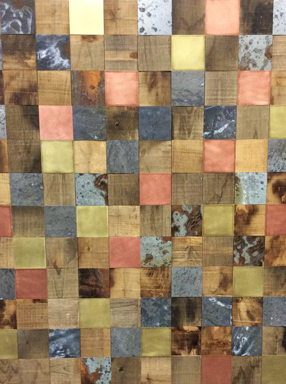 Reimagined - Wood, Brass, Copper & Zinc by Architectural Systems | Wood panels