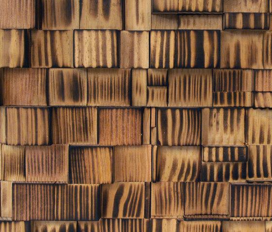 Charred de Architectural Systems | Planchas de madera