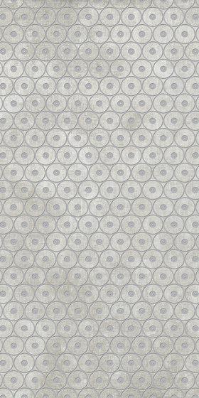 Tesori Anelli Grigio Decoro Argento by FLORIM | Ceramic tiles
