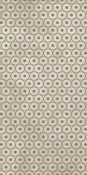 Tesori Anelli Grigio Decoro Oro by Cedit by Florim | Ceramic tiles