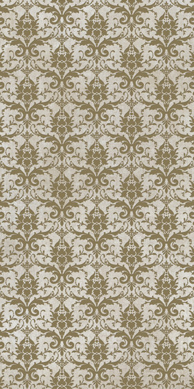 Tesori Broccato Bianco Decoro Bronzo by FLORIM | Ceramic tiles