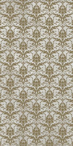 Tesori Broccato Grigio Decoro Bronzo by Cedit by Florim | Ceramic tiles
