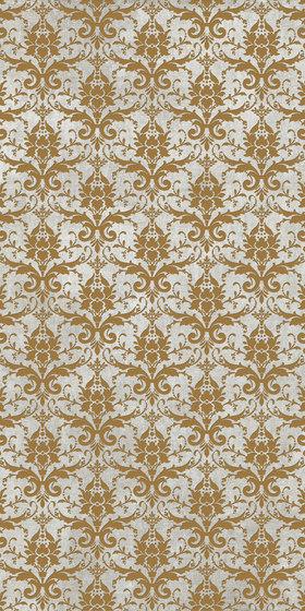 Tesori Broccato Grigio Decoro Oro by FLORIM | Ceramic tiles