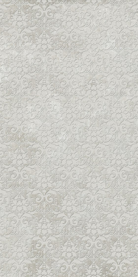 Tesori Broccato Grigio Decoro Semplice by FLORIM | Ceramic tiles