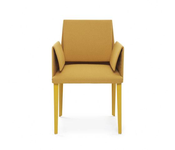 Marì 2015 armchair de Baleri Italia by Hub Design | Sièges visiteurs / d'appoint