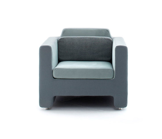Horizon armchair by Baleri Italia by Hub Design | Lounge chairs