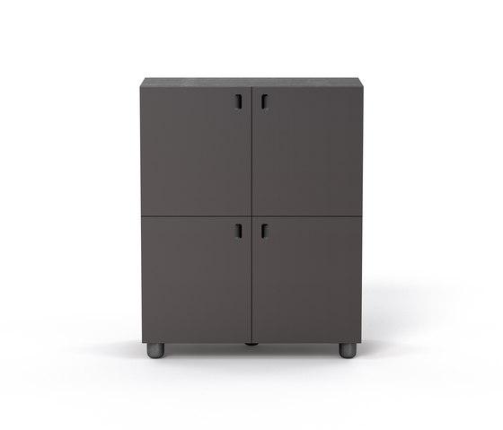 Satellite cabinets on feet von Quodes | Sideboards / Kommoden