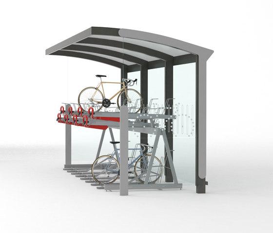 aureo velo | Fahrradüberdachungen von mmcité | Fahrradüberdachungen