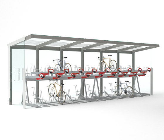 aureo velo | Bicycle shelter by mmcité | Bicycle shelters