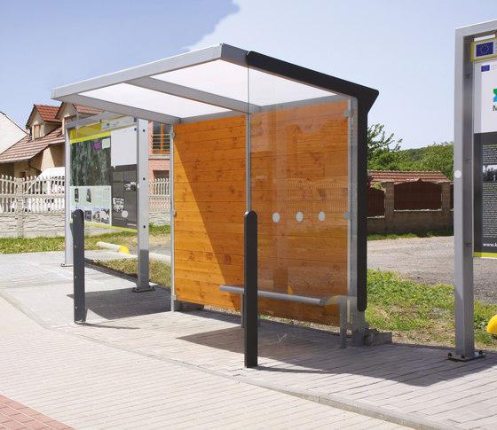 aureo | Bus stop shelter di mmcité | Fermate degli autobus