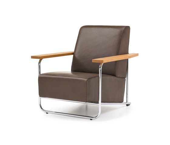 Lovell Easy Chair Steel by VS | Lounge chairs
