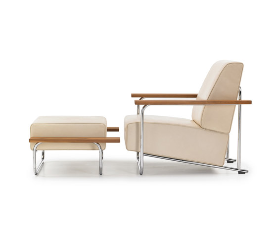 Lovell Easy Chair Steel by VS | Armchairs