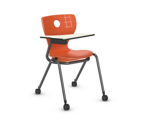 Compass-LuPo with writing surface by VS | Chairs