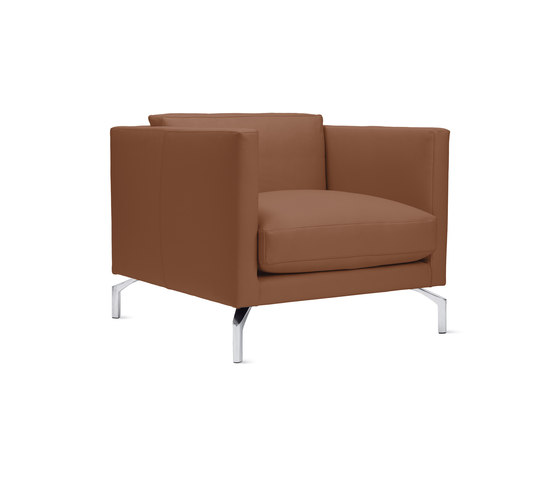 Comolino Armchair in Leather von Design Within Reach | Sessel