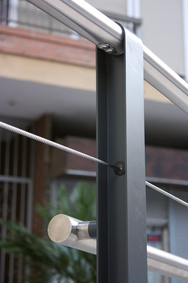 cydlimit | Railing stainless steel wires di mmcité | Ringhiere / Parapetti