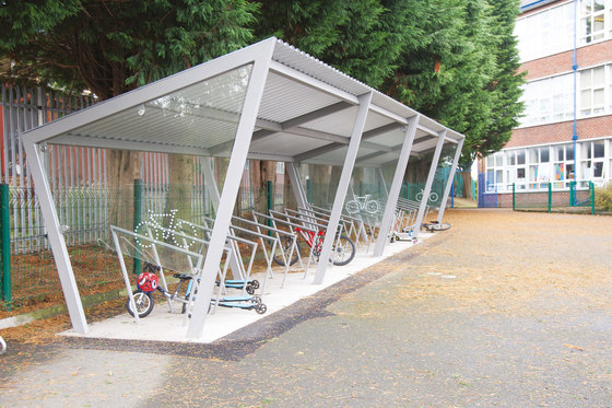 edge | Bicycle shelter by mmcité | Bicycle shelters