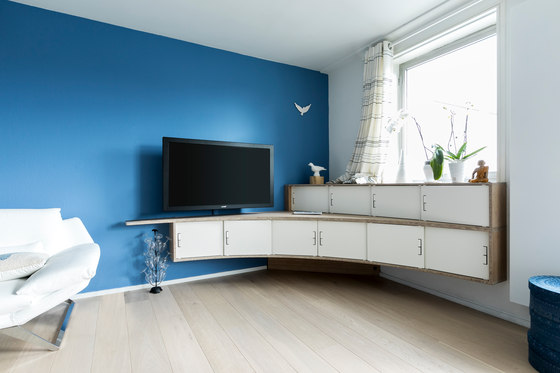 Curve Wood and Steel | Sideboard by Jo-a | Sideboards