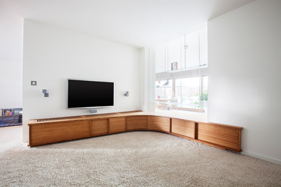 Curve Wood | TV stand by Jo-a | Sideboards