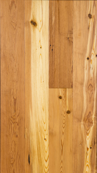 """Reclaimed Heart Pine, Engineered, 5"""" width by Architectural Systems 