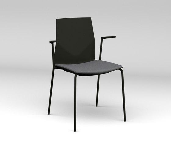 Four®Cast2 Four upholstery di Four Design | Sedie visitatori