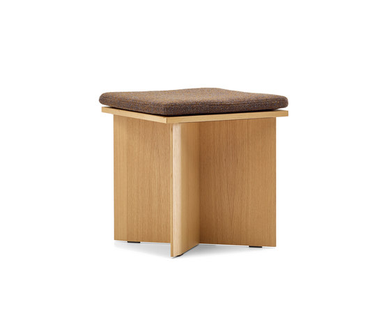 Channel Heights Stool by VS | Poufs