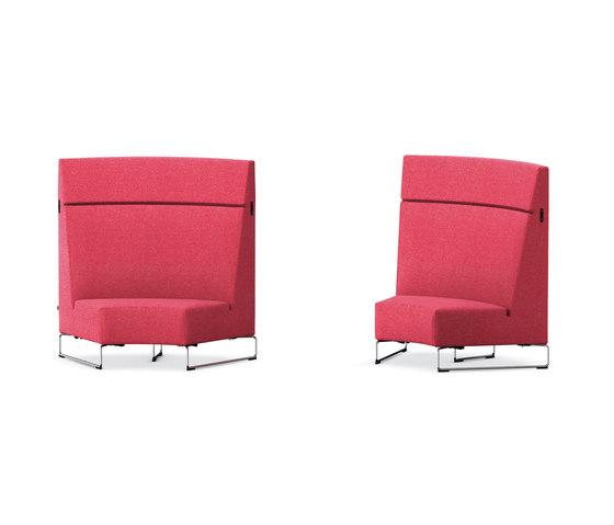 Lounge HiBack von VS | Modulare Sitzelemente