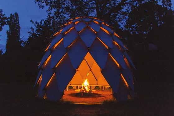 pinecone | Pavillons de mmcité | Pavillons de jardin