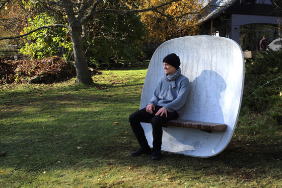 satellite | Park bench by mmcité | Benches