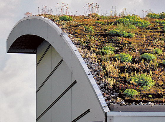 Green by Swisspearl | Roofing systems