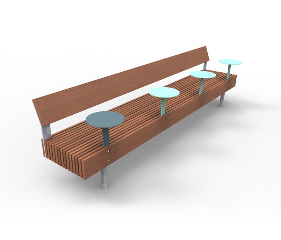 woody smart | Smart bench by mmcité | Benches