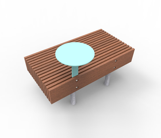 woody smart   Smart bench by mmcité   Benches