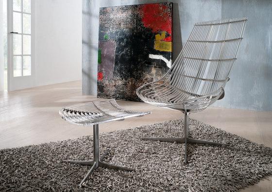 Spline | Lounge Chair by Schütz | Garden armchairs
