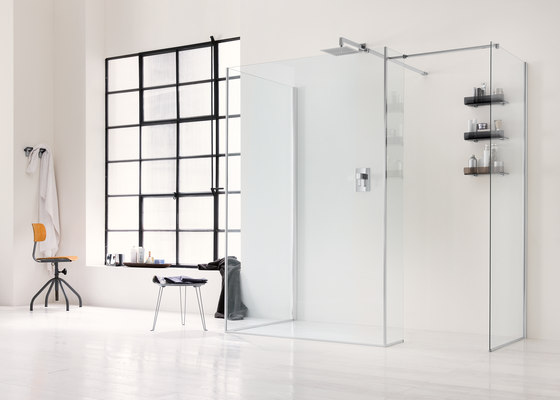 Walk In Wall D by Inda   Shower screens