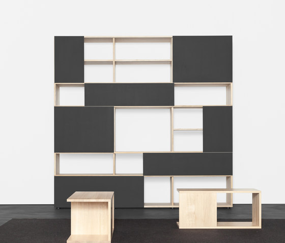 ANALOG modular shelf- und sideboardsystem by Sanktjohanser | Shelving