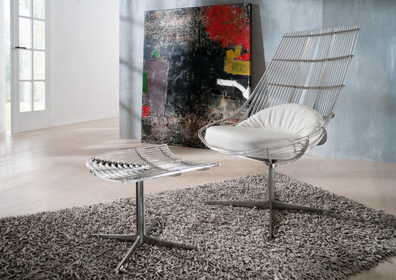 Spline | Sessel von Schütz | Gartensessel