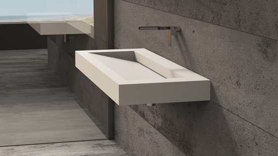 Solidsquare | B-10 by Ideavit | Wash basins