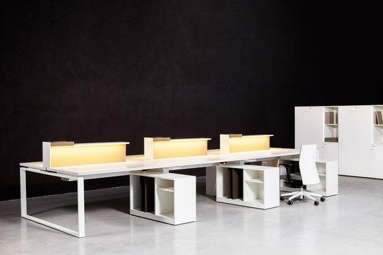 Bat Office de AKABA | Systèmes de tables de bureau