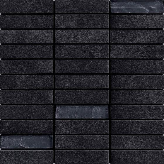 Cementi | mosaico nero di Cerdisa | Piastrelle ceramica