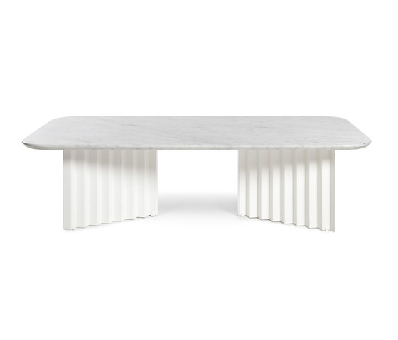 Plec Table Large Marble by RS Barcelona | Coffee tables